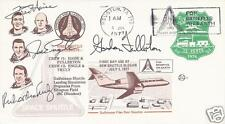SPACE SHUTTLE APPROACH & LANDING TEST - ALT - FULLY SIGNED POSTAL COVER - UACC