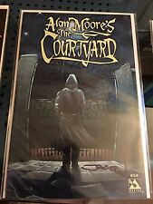 Alan Moore's The Courtyard Avatar Press Signed by Jacen Burrows TPB RARE GN