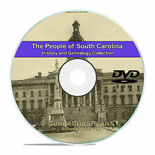 South Carolina SC, Civil War, Family Tree History Genealogy 207 Books DVD CD B15