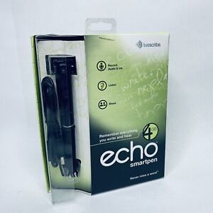 Livescribe Echo Pulse Smartpen 4GB Mac & Windows Recordable Voice Recorder Pen
