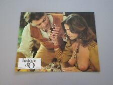 "CORINNE CLERY ""HISTOIRE D'O"" JUST JAECKIN LOBBY CARD LB3"