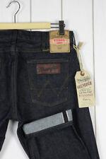 Wrangler Cotton Indigo, Dark wash Skinny, Slim Jeans for Men