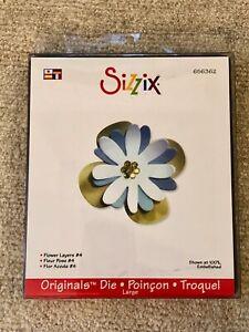 Sizzix Originals Die - Flower Layers #4, # 656362, New