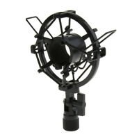 Universal Studio Recording Microphone Mic Shock Mount Clip Holder Bracket