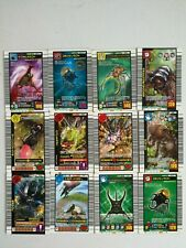 Mushiking:KING OF BEETLE CARD 12 CARDS USED CONDITION FOR PLAY ARCADE GAME #1663
