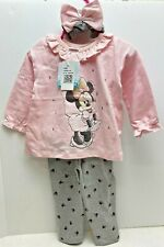 Disney Baby Girl 18M Legging Set 3 Piece Minnie Mouse Free Shipping