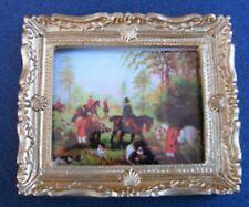 1:12 Échelle Image (Imprimé) de une Chasse Scène Tumdee Maison de Poupées Mini 2