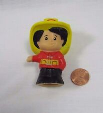 Fisher Price Little People FIREMAN FIREFIGHTER for Fire Truck CHIEF Rescue Man