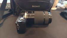 Sony Alpha a5000 20.1MP Digital SLR Camera w/55-210 Zoom Lens
