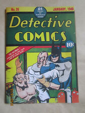 DETECTIVE COMICS # 35 - COVERLESS - INCOMPLETE