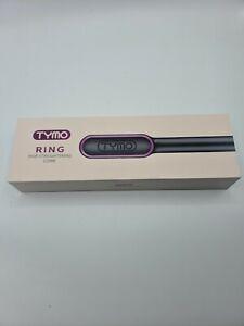 TYMO RING Hair Straightener Brush Hair Straightening Iron with Built-in Comb **