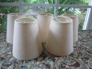 Chandelier Lamp Shades Linen Color Textured Handmade Paper Drum White Clamp IKEA