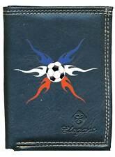 Petit Portefeuille Homme, porte monnaie papiers Drapeau France Foot Football