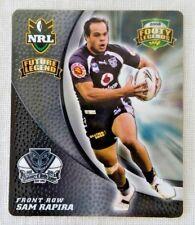 2008 NRL Footy Legends Tazo 20 Future Legend Sam Rapia - New Zealand Warriors