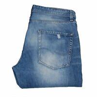 24967 JACK&JONES ERIC ANTI FIT Délavé Coupe Slim Bleu Hommes Jean En Taille 36