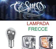 Lampada Auto 1 filamento Cromo Arancio 12V - PY21W FRECCE 2 Pezzi Lampadine