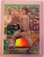 JAKE GUENTHER 2019 BOWMAN CHROME DRAFT SP GREEN REFRACTOR 1ST CARD /99