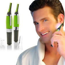 Unisex NOSE EAR NECK NASAL EYEBROW SIDEBURNS HAIR TRIMMER CLIPPER REMOVER kit UK