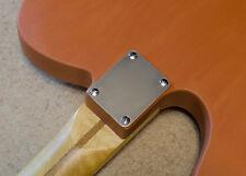 Fender style Lightweight Neck Plate, Aircraft Aluminum, Stratocaster, Telecaster