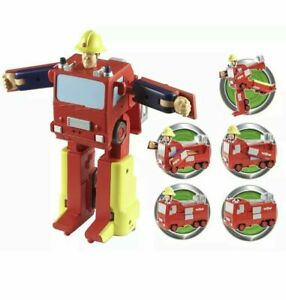 Fireman Sam Convertible Jupiter Engine Action Figure Toy Playset