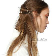 Fab Triangle Arrow Hairdo Hair Slide Ponytail Bun Holder Pin Clip Dress Stick