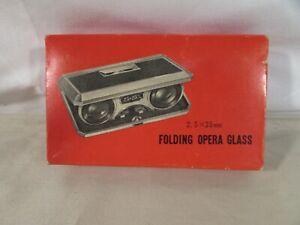 Vintage Arrow Folding Opera Glass 2.5X25 mm