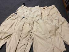 Lot 5 Pair The Children'S Place Boys Sz 16H Uniform Shorts Good Cond Cargo Shor