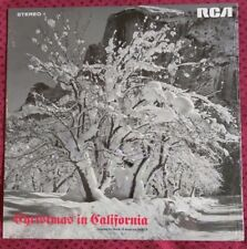 CHRISTMAS IN CALIFORNIA LP 1968 Vic Damone Ed Ames  Mancini Harry Belafonte NM