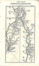 Carte antique, Aberdeen à braemarr (2)