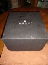 Genuine TAG Heuer Watch Box And Leather Wallet with Booklet Swiss Avant-Garde