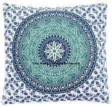 """Indian Mandala Thrown Pillow Case Cover Sofa Cushion Cover Ombre Room Decors 16"""""""