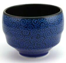 pour thé vert fait main Deux en surbrillance Anthracite yunomi Japonaises Tea Cups