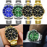 Luxury Mens Watches Quartz Stainless Steel Analog Date Sports New Wrist Watch VU