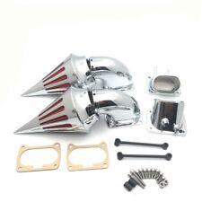 Chrome Spike Intake Air Cleaner Filter Kit Suzuki Boulevard M109 M109R VZR1800