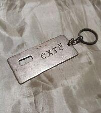 EXTÉ by versace portachiavi key ring in acciaio invecchiato