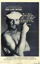 THE LAST DETAIL Movie POSTER 11x17 B Jack Nicholson Otis Young Randy Quaid