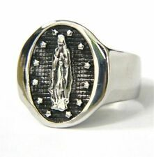 Biker Ring Party Gifts For Unisex Cool Virgin Metal Stainless Steel Fashion Punk