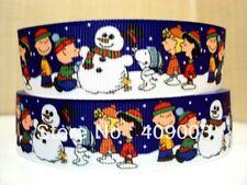 Snoopy De Navidad Cinta 7/8 pulgadas de ancho 1m es sólo £ 0.99 Nuevo vendedor de Reino Unido