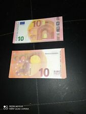 lot Billet 10 Euro Film Clip Money Movie X20  reproduction .