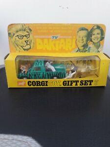 Corgi Gift Set No. 7 Tv Daktari In Original Box