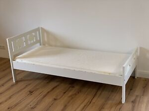 IKEA Kinderbett KRITTER mit Lattenrost und Matratze VYSSA