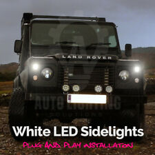 For Land Rover Defender 207 R5W Xenon White COB LED Sidelights Upgrade Bulbs