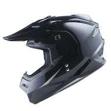 1Storm Adult Motocross Helmet Motorcross ATV MX BMX Bike DOT Racing Glossy Black