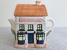 Novelty teapot - The White Lion Public House