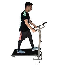 Folding Portable Manual Treadmill walking Running Fitness Machine + Counter NEW