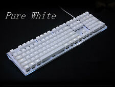 108 Backlit Thick PBT Keycaps Cherry MX switch FOR Mechanical Gaming keyboard