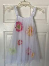 CHASING FIREFLIES White Sleeveless Tulle Easter Spring Summer Party Dress Sz 6
