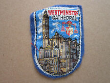 Westminster Cathedral Woven Cloth Patch Badge