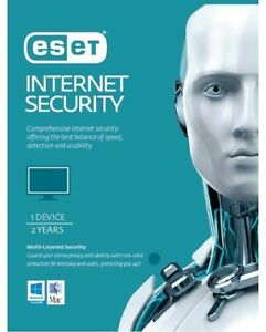 ESET Internet Security (Advanced Protection), 1 Device 2 Years PC ESD only OEM