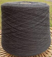 Knitting Machine Yarn 2/30 1.5 Kilos Wool / Acrylic Mix Dark Grey IND23.06